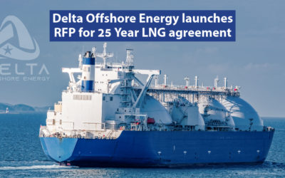 Delta Offshore Energy launches RFP for 25 Year LNG agreement.