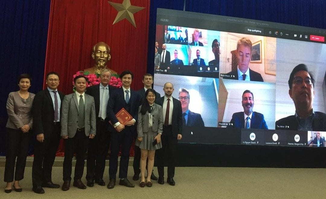 DeltaOE presented its consortium partners at the Memorandum of Understanding (MOU) signing ceremony for the 3200 MW LNG-to-Power Plant project in Bac Lieu.